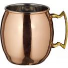 Winco CMM-20 20 Oz Smooth Moscow Mule Mug