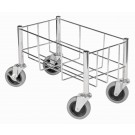 Winco DWR-1708 Wire Cart for trash cans