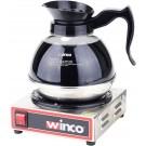 Winco ECW-1 100W Electric Coffee Warmer With Single Burner