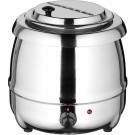 Winco ESW-70 Stainless Steel Soup Warmer Set