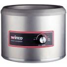 Winco FW-11R250 11 Qt Electric Round Food Warmer
