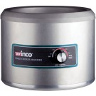 Winco FW-11R500 Electric 11 Quart 1250W Round Food Cooker/Warmer