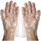Winco GLP-M Medium Polyethelene Textured Disposable Gloves