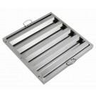 """Winco HFS-1620 Stainless Steel 16""""W x 20""""H Hood Filter"""