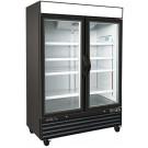 Kool-It KGF-48 Double Glaas Door Merchandiser Freezer
