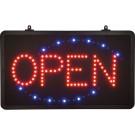 "Winco LED-6 ""Open"" Single Pattern LED Sign"