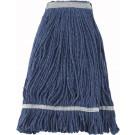 Winco MOP-24 Blue Yarn 24oz 600g Looped End Mop Head
