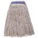 Winco MOP-24WC White Yarn 24oz 600g Cut Head Mop Head