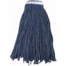 Winco MOP-32C Blue Yarn 32oz 800g Cut Head Mop Head