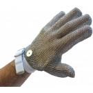 Omcan 13558 White Wrist Strap Small Mesh Glove
