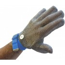 Omcan 13556 Blue Wrist Strap Large Mesh Glove
