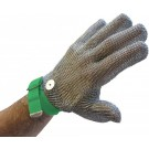 Omcan 13559 Green Wrist Strap Extra Large Mesh Glove