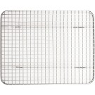 """Winco PGWS-810 8"""" X 10"""" Stainless Steel Pan Grate for Half-size Steam Pan"""