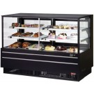 "Turbo Air TCGB-60UF-CO-B-N Black European Straight Front 60"" Combo Bakery Case"