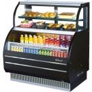 "Turbo Air TOM-W-50SB-N Open Display Merchandiser 50"" Combination Open Display Case"