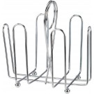 Winco WH-2 Chrome Plated Cruet Rack for Sugar Packets