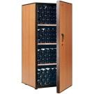 Eurodib AM130NOPDUS 215 Bottles Wood Door Aging Cabinet
