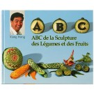 Bron Coucke Book6 English Fruit and Vegetable Carving Book