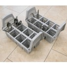 Lamber CC00043 8 Compartments Cutlery Basket