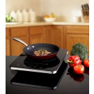 Eurodib C1813 Single Induction Cooker with A Cast Iron Enamel Fry Pan