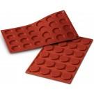 Silikomart SF030 24pcs 0.34 oz. Florentine Silicone Mold