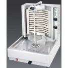 Visvardis DE1A 40-70 lbs. Gas Gyro and Shawarma Machine
