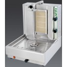 Visvardis DG4A 40-70 lbs. Gas Gyro and Shawarma Machine