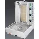 Visvardis DG6A 66-100 lbs. Gas Gyro and Shawarma Machine