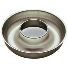 "GOBEL 154050 9.5""Dia. Tin Plated Deep Savarin Or Ring Mold"