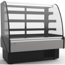 "Hydra-Kool KBD-CG-50-R 50""W Remote Curved Glass Bakery Case"