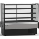 "Hydra-Kool KBD-FG-80-D 80""L Non-Refrigerated Flat Glass Bakery Case"
