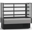 "Hydra-Kool KBD-FG-60-D 60""L Non-Refrigerated Flat Glass Bakery Case"