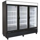 Kool-It KGF-72DV Three Section Glaas Door Merchandiser Freezer