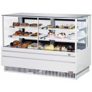 "Turbo Air TCGB-60UF-CO-W-N White European Straight Front 60"" Combo Bakery Case"