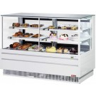 "Turbo Air TCGB-72UF-CO-W-N White European Straight Front 72"" Combo Bakery Case"