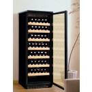 Chigo WC001BLSS 96 Bottles Capacity Silver Frame Glass Door Wine Cabinet