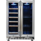 Eurodib UFS36B 55 Cans and 18 Bottles Wine and Beverage Cabinet
