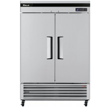 "Turbo Air TSF-49SD-N Super Deluxe Series 54"" Solid Door Reach-in Freezer"