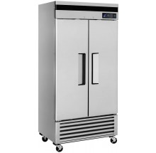 "Turbo Air TSR-35SD-N Super Deluxe Series 39"" Solid Door Reach-in Refrigerator"