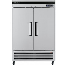 "Turbo Air TSR-49SD-N6 Super Deluxe Series 54"" Solid Door Reach-in Refrigerator"