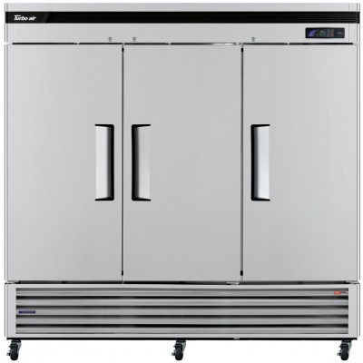 "Turbo Air TSF-72SD-N Super Deluxe Series 81"" Solid Door Reach-in Freezer"