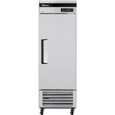 "Turbo Air TSR-23SD-N6 Super Deluxe Series 27"" Solid Door Reach-in Refrigerator"