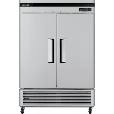 "Turbo Air TSR-49SD-N6 Super Deluxe Series 54"" Solid Door Reach-in Refrigerator"